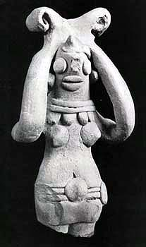 Mother Goddess figurine 2500 Bc