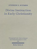 Stephen E. Witmer, Divine instruction in Early Christianity