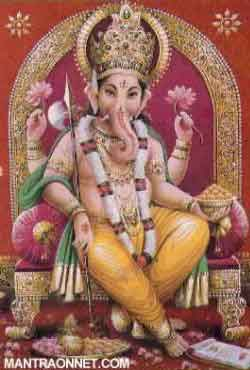 Shri Ganesha, the Remover of all obstacles, uses a mouse as His vehicle