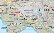 Location of Mount Kailash