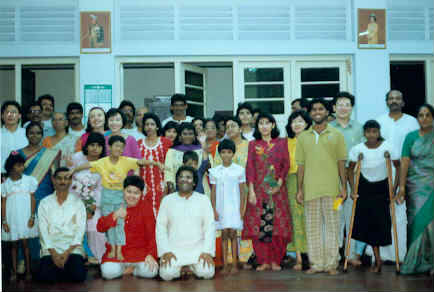 Malaysian collective at 1994 Christmas Puja